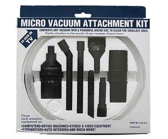 Kirby micro vacuum attachment kit